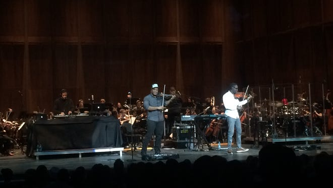 Black Violin, string duo from South Florida, brought their genre-fusing sound to Tallahassee.