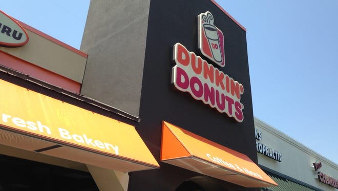 Dunkin' Donuts at 5 Stonebridge Blvd. has been closed by the government over unpaid taxes, according to a notice posted at the restaurant.