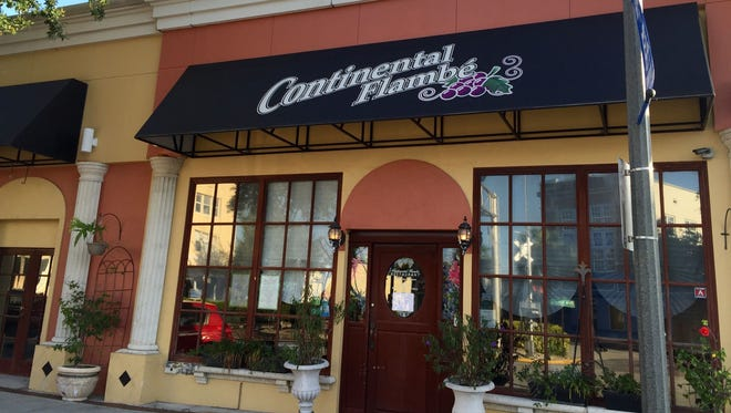 Valerie Bruel, owner of Continental Flambe in downtown Melbourne, announced Wednesday that she has closed the restaurant after 21 years.