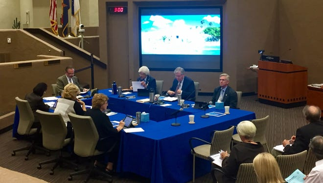 The Scottsdale City Council met for its second public meeting on Nov. 6, 2017, regarding the proposed Desert EDGE project in the McDowell Sonoran Preserve and unanimously decided to hold off on the project until a citizens' initiative plays out.