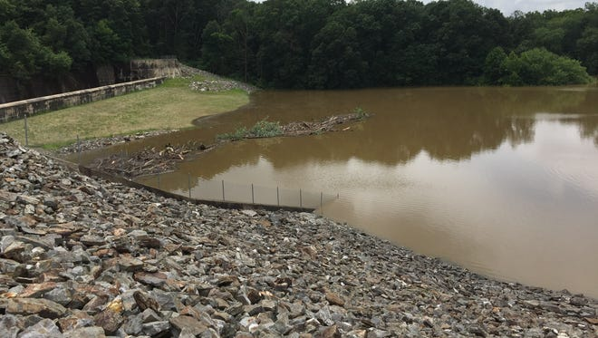 Indian Rock Dam is holding more than 2 billion gallons of water after rain fell on York County for several days. The dam's total capacity is more than 9 billion gallons of water, and it helps protect the City of York and other surrounding municipalities from more serious flooding.