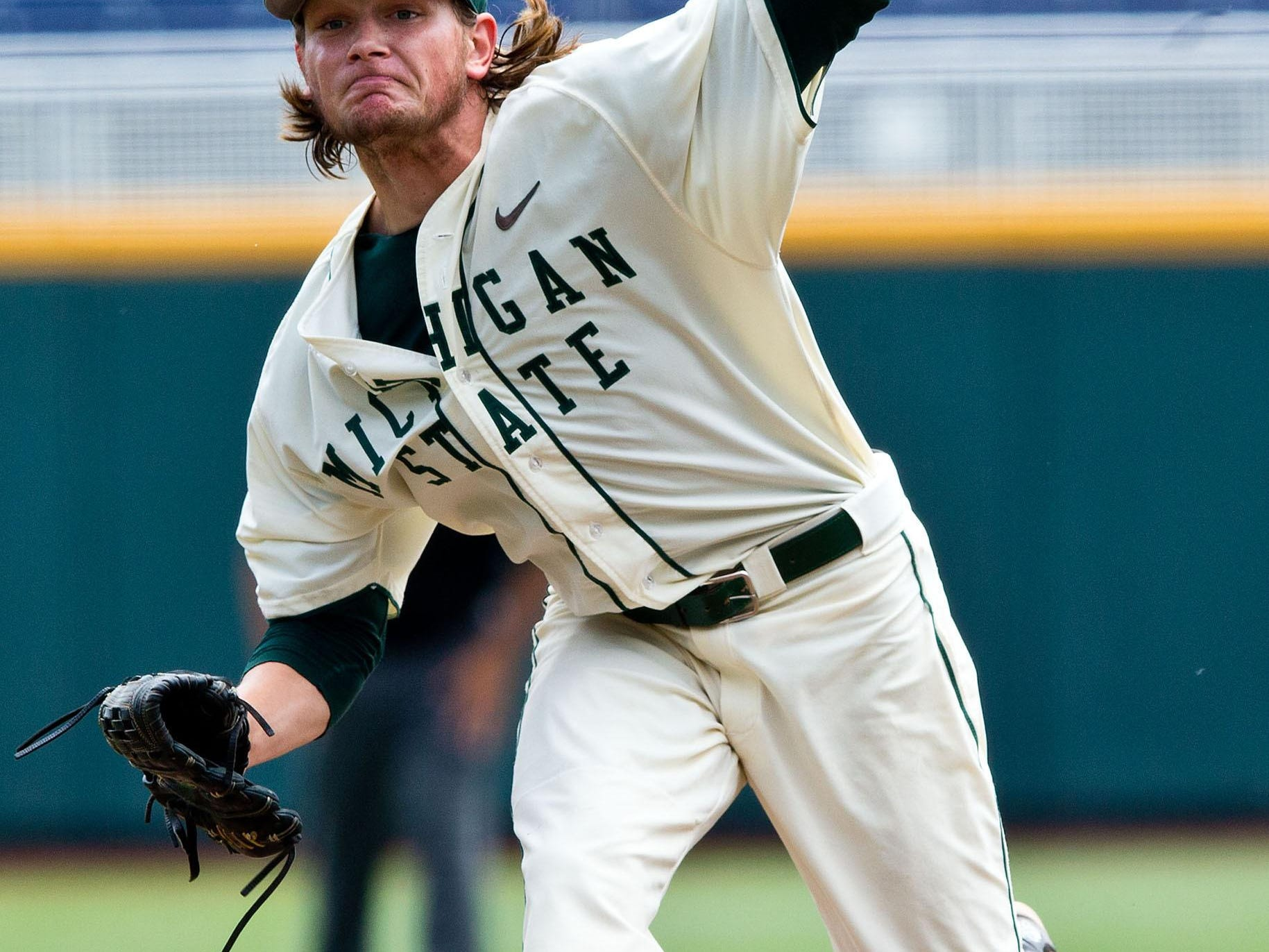 MSU junior pitcher Anthony Misiewicz was taken by the Seattle Mariners in the 18th round of the MLB draft on Wednesday. The 6-foot-1, 187-pound left-hander went 5-4 with a 3.80 ERA and 58 strikeouts in 68 2/3 innings this spring for the Spartans. Baseball America ranked Misiewicz as the 14th-best player in the state going into the draft after he split time between the Spartans' starting rotation and bullpen, with eight starts among his 18 appearances this season.