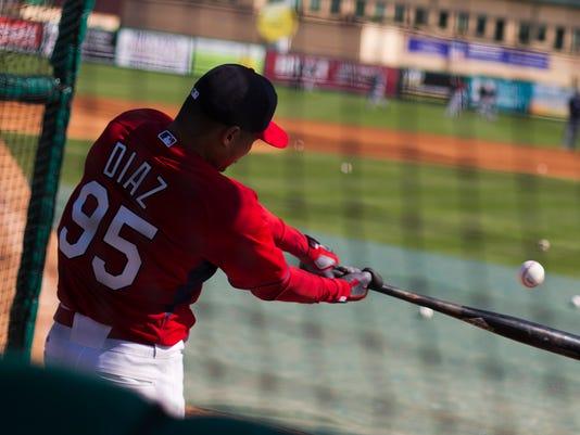 Cardinals Diaz Spring Baseball