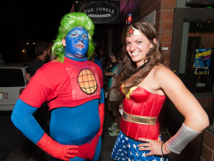 Reno's world famous Superhero Crawl on Saturday July
