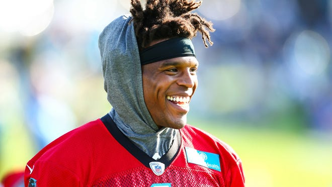 Cam Newton appears to be a positive presence among his Patriots teammates.