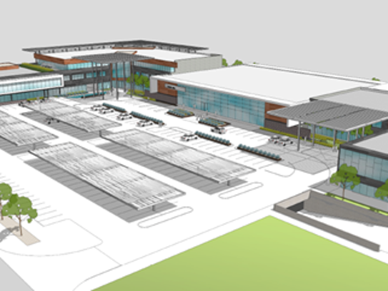 Conceptual renderings show possible redesigns of the