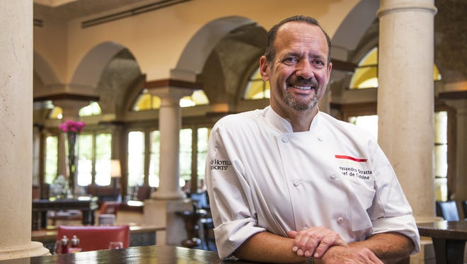 Alex Stratta is back in the Valley as the chef de cuisine at Prado at Omni Montelucia Scottsdale.