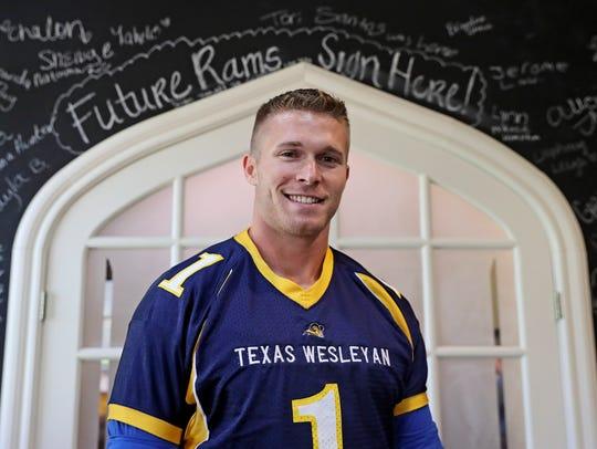 Texas Wesleyan player Brandon Greene will be a big