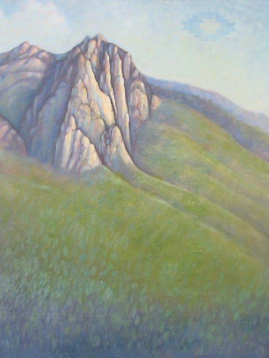 Mona Selph_Castle Rocks with Morning Star.jpg
