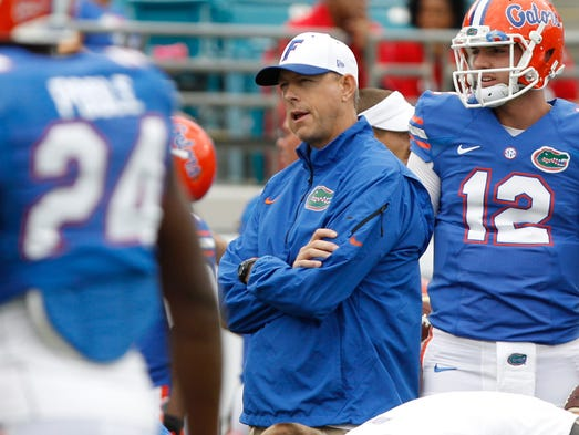 No. 21 (tie) Brent Pease, Florida's former offensive coordinator: $600,000. Under a one-year contract extension he got in January 2013, Pease was scheduled to receive an additional $100,000 as a longevity payment if he was employed by Florida as of Jan. 31, 2014. However, he was fired Dec. 1.