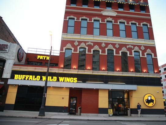 Buffalo Wild Wings at 1218 Randolph St. in downtown