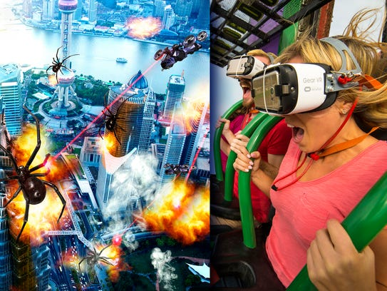 Six Flags Great American has a new virtual reality
