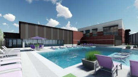 Tarleton State University this weekend unveiled plans for an almost $12 million Aquatics Center on the Stephenville campus, following a green light last month from The Texas A&M University System Board of Regents.