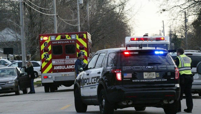 A teenage girl received non-life-threatening injuries after being struck by a vehicle on Lakeshore drive in Sheboygan on Tuesday afternoon.