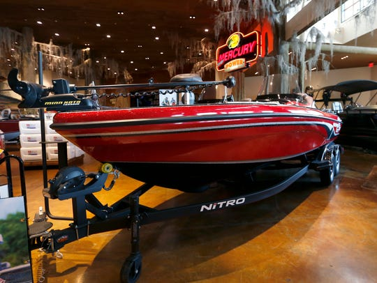 Fiberglass V boats are bigger and taller models. They