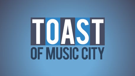 Toast of Music City graphic