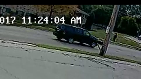 Police say this vehicle may have been circling the block at the time of a robbery of Check into Cash, 2056 Main St., on Aug. 26.