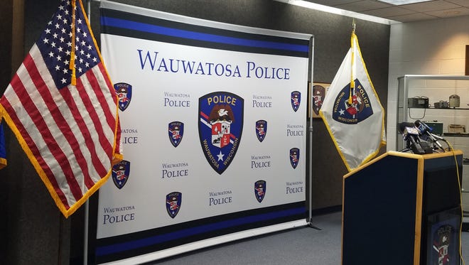 The Wauwatosa Police Department held a press conference on Dec. 19 to discuss a law enforcement initiative called the Suburban Violent Crimes Task Force.