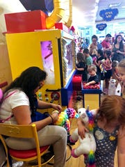 The Scottsdale Fashion Square Build-A-Bear location