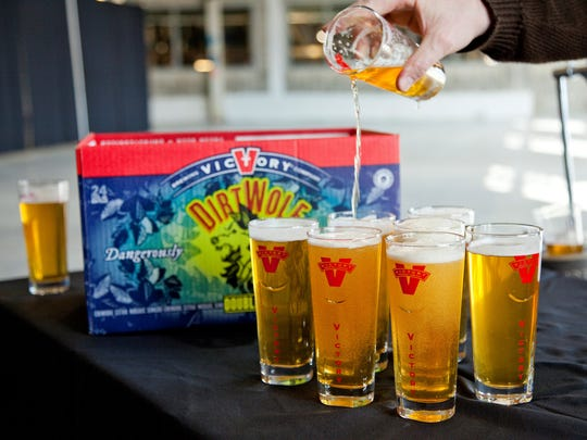 WHAT TO TRY The full-of-flavor beer options at Victory Brewing Company, the region's largest craft brewery. DirtWolf Double IPA is loaded with mosaic, citra and chinook hops to deliver an intense aroma and citrusy, earthy flavors.