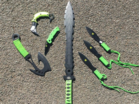 Zombie knives.