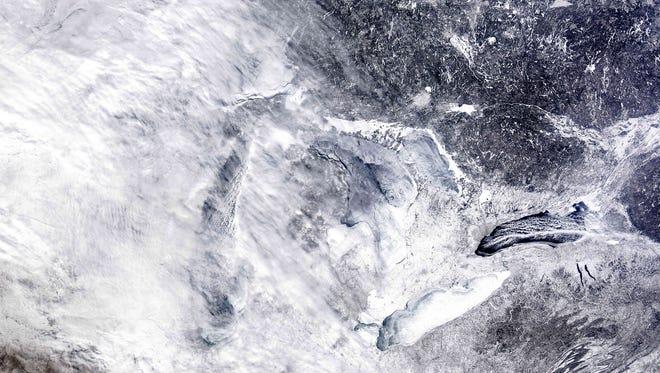 Michigan has two spots on the Washington Post's ten snowiest cities list.