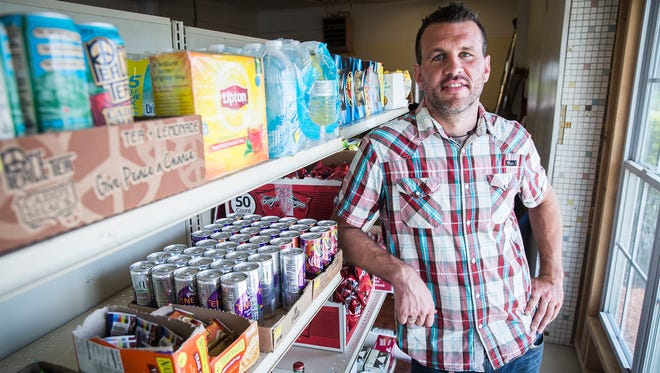 Owner Mike Martin is shown at the Muncie Community Market at 900 W. Eighth St., in this file photo.
