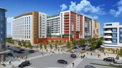 This is a rendering of The Fields, the housing and
