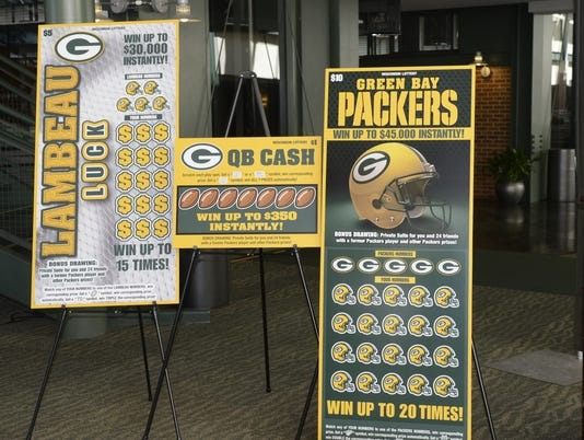 Packers Wisconsin Lottery