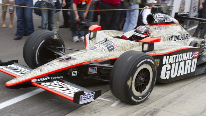 Panther Racing nearly won the 2011 Indianapolis 500 with driver JR Hildebrand. Now, it's attention is on a young Colombian driver, Carlos Huertas.