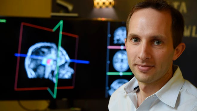 Pierre-Francois D'Haese is CEO of  Neurotargeting, a Nashville company made up of two Vanderbilt University engineers and a Vanderbilt neurosurgeon. They developed software that geomaps the brain.