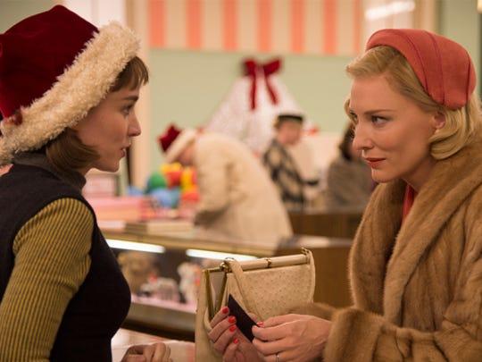 """Rooney Mara and Cate Blanchett star in """"Carol,"""" a VFF spotlight screening."""