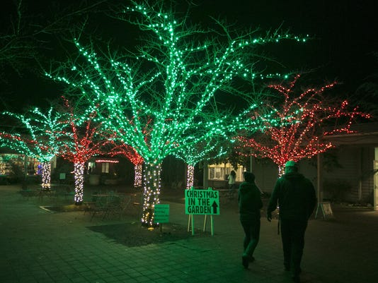 December events include lots of tree lightings, shopping, and Santa
