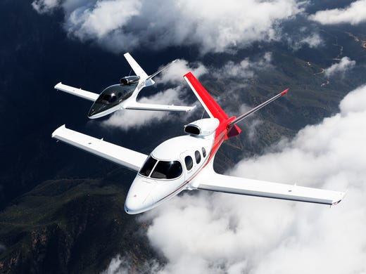 Flying the world's most affordable private jet