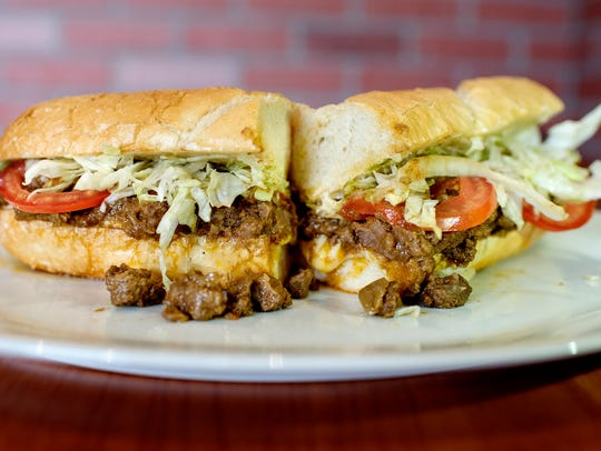 ChiChi and Papa Himalayan Cuisine's beef sub sandwich