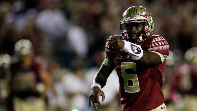 Everett Golson completed 25-33 passes for 291 yards and touchdown against Miami.