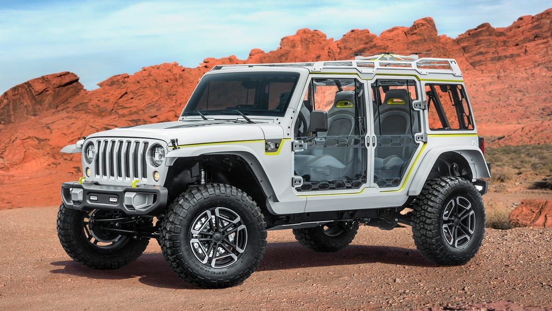 Jeep shows off cool concepts for annual Moab meet