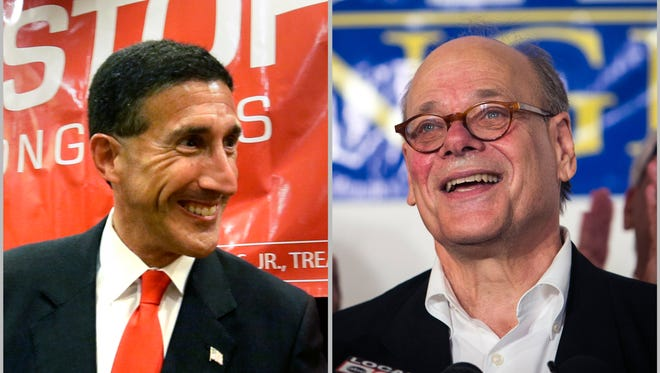 David Kustoff, left, and Steve Cohen will represent U.S. Congressional Districts 8 and 9, respectively.
