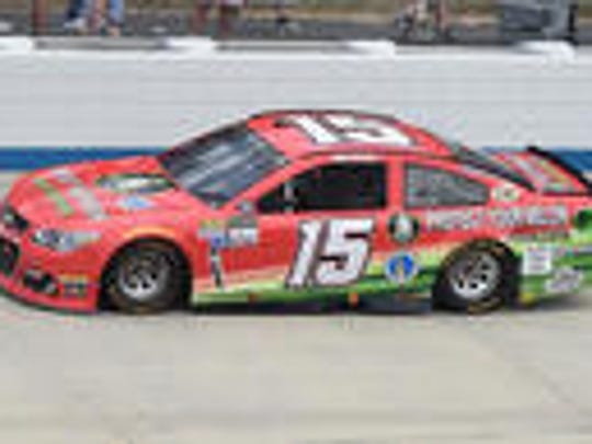 Alva resident Ross Chastain finished 20th Sunday in his debut in NASCAR's top series.