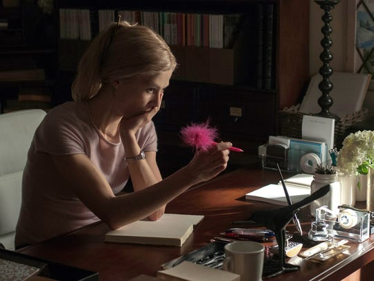 Rosamund Pike is nominated for her role as Amazing Amy in 'Gone Girl.'