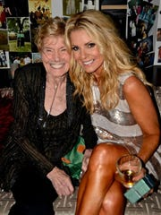 """Melissa Schleicher and her grandmother Darcy Thompson in 2008. Thompson, a mentor during Schleicher's """"bad girl"""" days, passed away earlier this year."""