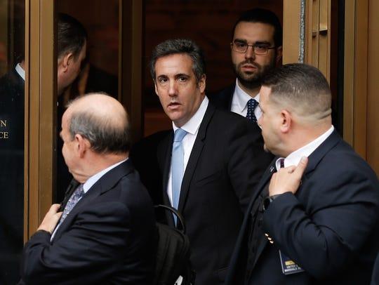 El ex abogado personal de Trump, Michael Cohen, habría