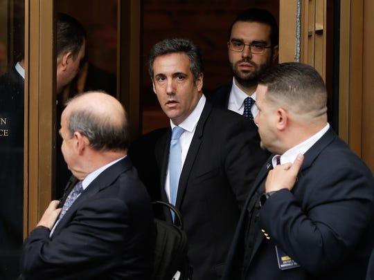 El ex abogado personal de Trump, Michael Cohen, habría grabado la conversación en secreto.