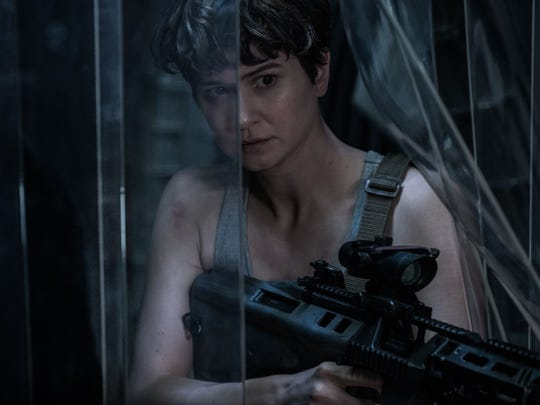 "Katherine Waterston looks for extraterrestrials in ""Alien: Covenant."""