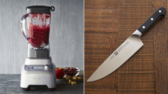 Breville Blender and Zwilling Knife
