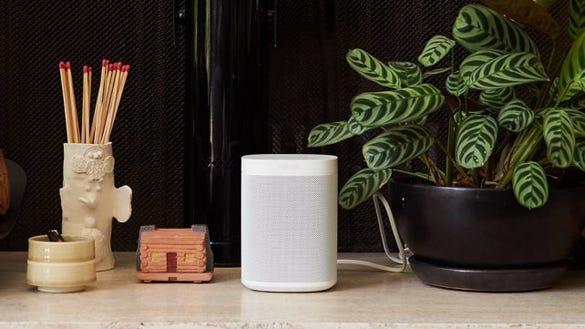 Sonos One with Amazon Alexa.
