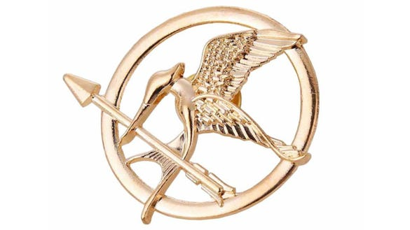 Angelia Hunger Games Mockingjay Pin