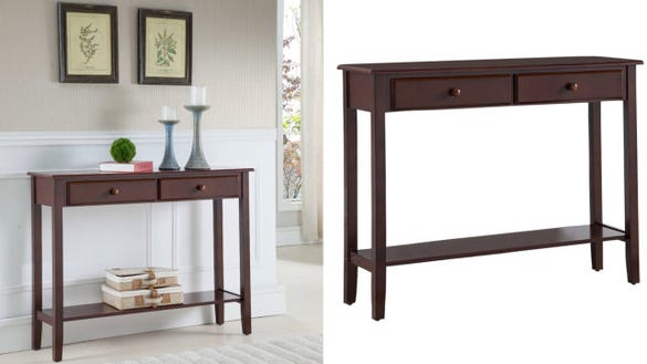 Tomag Wood Console Table