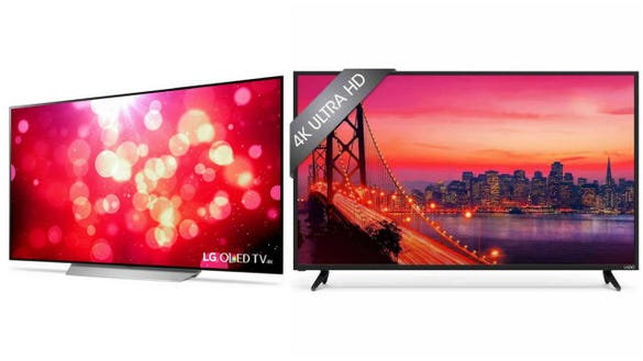 LG and Vizio TVs