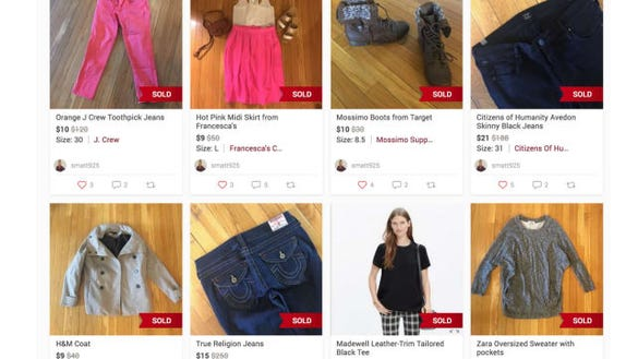 Can i sell my clothes online